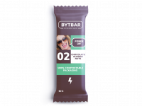 BYTBAR CHOCOLATE ALMOND NUTS - 1 x 60 gram