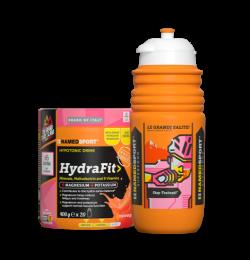 NamedSport Giro Special HydraFit Hypotonic Drink - 400 gram + Gratis Elite Bidon