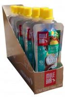 MuleBar Fruit Pulp Pouch - 10 x 65 gram