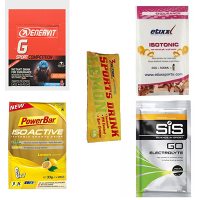 Proefpakket Isotone drank met 5 verschillende merken