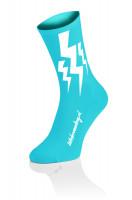 Lightning Kousen - Fluo Blauw