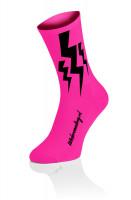 Lightning Kousen - Fluo Roze