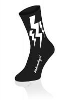Lightning Sokken - Zwart