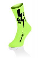 Lightning Sokken - Fluo Geel