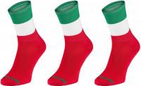 3 paar WINAAR Sokken Italië - Vlag van Italië