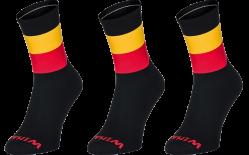 3 paar WINAAR Sokken België - Vlag van België