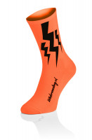 Lightning Kousen - Fluo Oranje